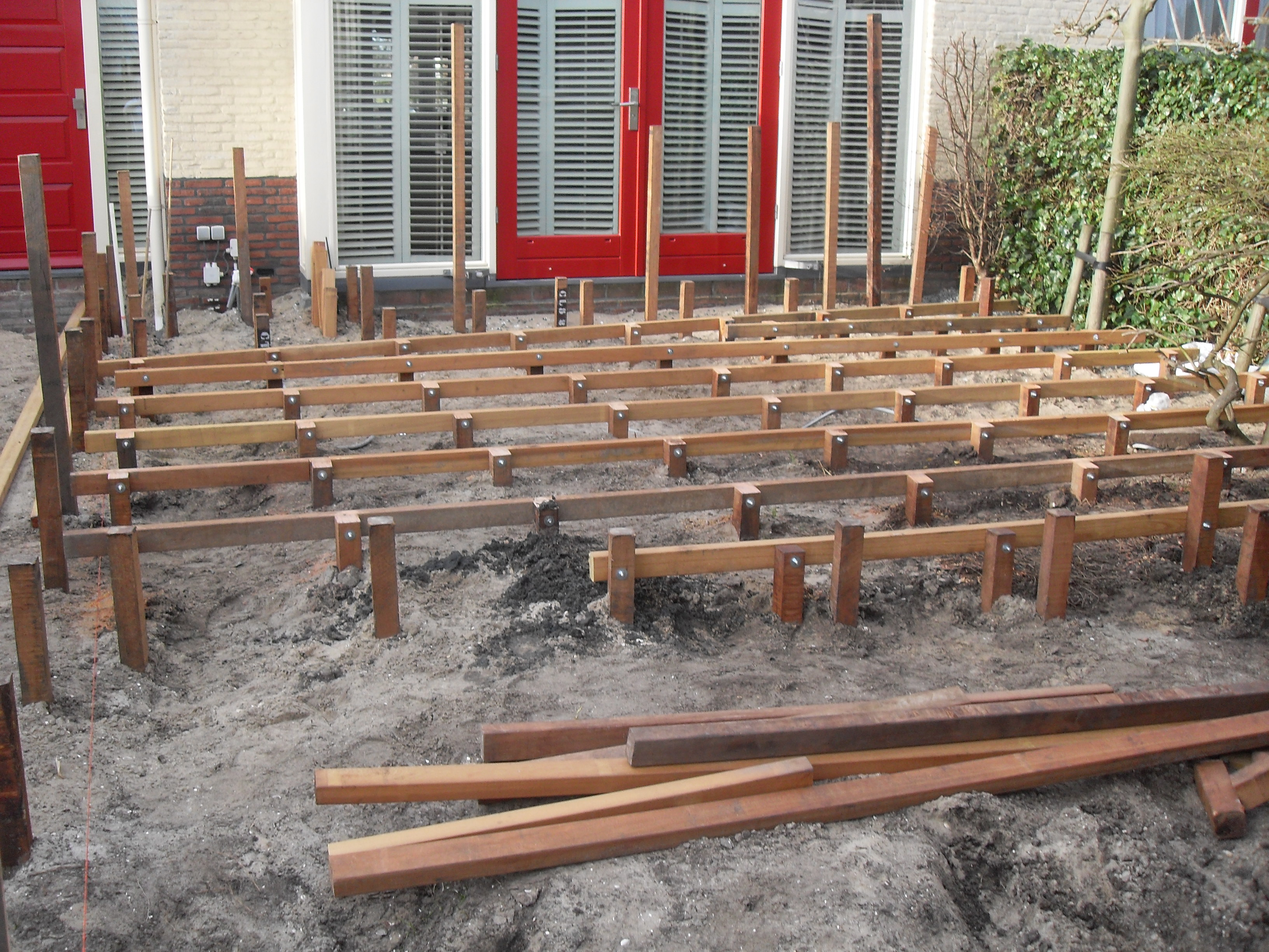 Houten Palen Tuin : ≥ schutting planken geimpregneerd hek tuin hout zeer goedkoop